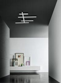 LED-Deckenleuchte REVIEW weiß 117x91cm