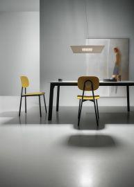 LED-Pendelleuchte SPOKE Q Taupe 63x63cm