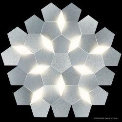 Grossmann KARAT LED-Deckenleuchte 79-785-072