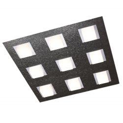 Grossmann LED-Deckenleuchte BASIC 45x45cm anthrazit 79-790-019
