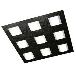 Grossmann LED-Deckenleuchte BASIC 45x45cm schwarz 79-790-046