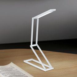 Hausmarke LED-Akku-Tischleuchte FALTO LA 4-1191 silber