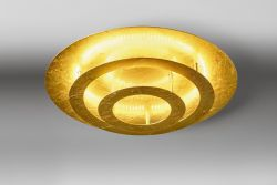 LED-Deckenleuchte CIRCLE 40cm Blattgold