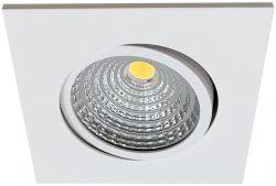 LED-Einbaustrahler MOBiDIM COB SLIM+ Q 8,5W D2W 60° weiß