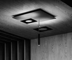 Icone Minitallux LED-Deckenleuchte PETRA3 66cm