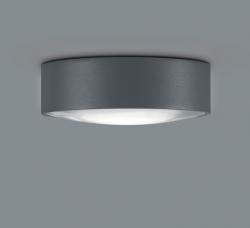 LED-Deckenaußenleuchte POSH graphit