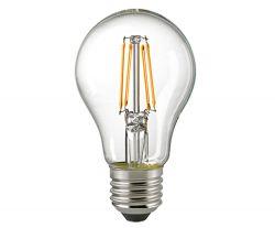 6,5W LED-Filament klar E27 2700K mit Tageslicht-Sensor