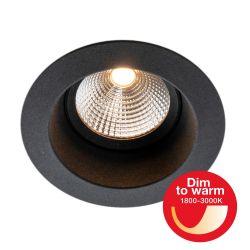 LED-Einbaustrahler ONE SOFT weiß/schwarz/Alu