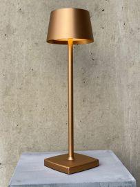 LED-Akku-Tischleuchte ORANGE ONE rosegold