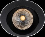 LED Einbaustrahler schwarz von SLC