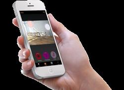 Casambi Bluetooth Steuerung auf dem Handy