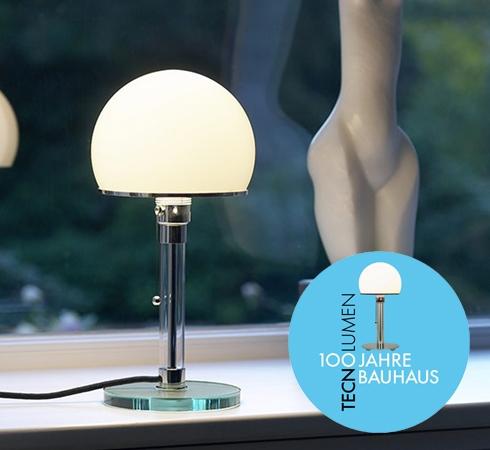 Wagenfeldlampe WG24 von Tecnolumen