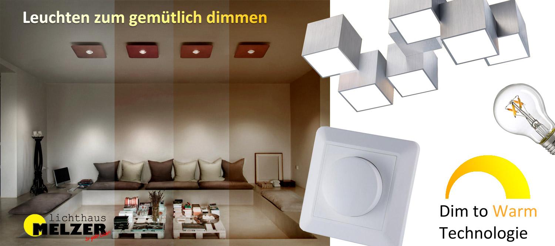 Lampen mit Warmdimming LEDs